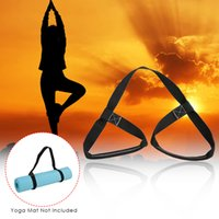 sling de yoga achat en gros de-Bandoulière réglable en soie Sangle de transport Sling Stretch Belt Band Y4020