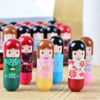 Wholesale pc Lovely Kimono doll Brand Makeup Lipstick Women Beauty Professional Cosmetic Lipstick Makeup lipgloss Hot Selling New DYY710