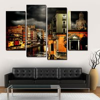 art markets - Panels Unframed Markets Painting Canvas Wall Art Picture Home Decoration Living Room Canvas Print Modern Painting