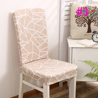 Wholesale hotel chair cover wedding Party multi color with thick white elastic Decoration high end banquet chair cover