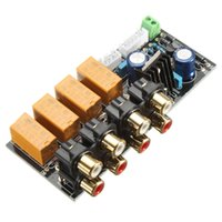 audio input selector - Freeshipping Audio Input signal Selector Relay Board Signal switching amplifier board DIY
