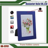 achat en gros de cadres photo prix-Peinture photo cadre espion caméra cachée Mini caméscope enregistreur caméra DVR 1280 * 960 avec prix d'usine