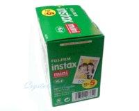 5 Paquete Original Fujifilm Instax Mini Película 8 7s 25 50s 90 Polaroids 300 instantánea blanco borde fotográfico Fuji película de la cámara 50pcs