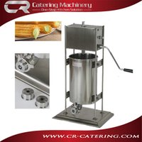 Wholesale Spanish snack equipment manual type L capacity commercial churro machines maker made of stainless steel without fryer CR CM10M