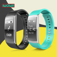 Wholesale Original IWOWN I6 PRO Smart Wristband Heart Rate Monitor IP67 Waterproof Smart Bracelet Fitness Tracker support Andriod IOS