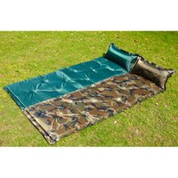 Wholesale Gold Hands Outdoor Camping or Hiking Inflatable Mattress Comfortable Inflatable Pillow Casual for Rest Easy to Carry Collapsible Mat
