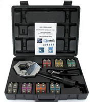 Wholesale auto A C Hose Fittings Crimping Tool Set Crimper Kit Hydraulic Hydra Krimp with Die Set