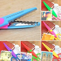 Wholesale 6x Scissors DIY Decorative Craft Border Scallop Wavy Fancy Pinking Shears E00129 BARD