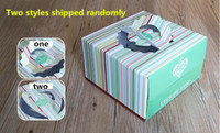 Wholesale Color stripe portable Korean birthday cake box Square pastry packaging cases Quality food grade corrugated box