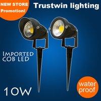 Wholesale pieces waterproof lawn landscape garden outdoor LED spot light spotlight with spike W