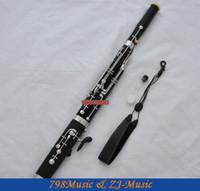 bassoon case - High Grade Bakelite Eb Bassoon cupronickel bocals Silver key New instrument Case
