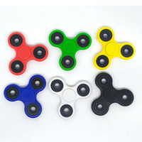 Wholesale 2017 Hot Toy EDC Hand Spinner Fidget Toy Good Choice For decompression anxiety Finger Toys For Killing Time Free DHL Free