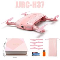 Wholesale New JJRC H37 Mini Drone Axis Gyro ELFIE Love520 HD Million WIFI Aerial Photography Folding RC Drones WX T02