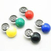 ball detector - Poke Ball Manual Grinder Poke Go Grinding Smoke Poke Smoking Cigarette Alloy Machine Poke Smoke Grinding Detector Tools JF