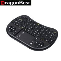 Wholesale I8 Mini Wireless Keyboard ghz English Air Mouse Touchpad Remote Control For Android TV Box