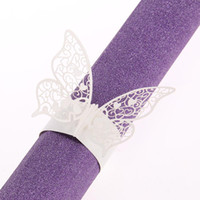 baby napkin rings - x Butterfly Napkin Ring Holder Wedding Favors Party Bridal Baby Shower Decor Wedding Decoration