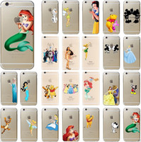 For Apple iPhone best iphone cases - For iphone case D cartoon Simpson Frozen cases star wars Snow White Spiderman Mermaid TPU cover for iphone S se c s plus best