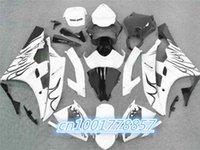al por mayor yzf r6 llama blanca-100% Fit Carenado kit para 2006 2007 Llama negro blanco YZF R6 YZF-R6 2006-2007 YZF R6 2006 2007 YZF R6 06 07
