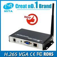 Wholesale H H HD VGA Video Audio To IP Stream Encoder Wireless Live Streaming Encoder HTTP RTSP RTMP UDP ONVIF