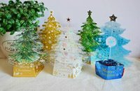 Wholesale Suitable for Christmas to send the blessing of the three dimensional creative creative style d Christmas greeting cards