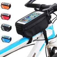 Free Size bicycle frame bag - 2017 Hot sale Waterproof Cycling Sport bags Bike Accessories Bicycle Frame Pannier Front Tube Bag