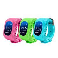 Smart Wristbands Q50 GPS Tracker pour Enfant Kid Smart Watch SOS Safe Appelez Localisateur Finder Trackers pour Enfants Enfants Avec Ecran LCD