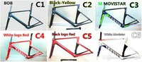 Wholesale The newest Movistar carbon Road Bike frame with BB86 XS S M models can yon carbon road bike frames
