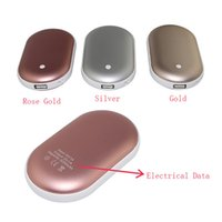 Wholesale SIBAINA Hand Warmer Power Bank mAh Multifunctional External Battery Pocket Heater Portable Power Bank