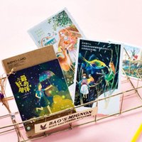 best holiday greetings - 30pcs box best childhood companion illustrations postcards Kawaii holiday greeting message card New Year Gift card