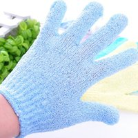 Wholesale Bath Shower Exfoliating Soap Foam Gloves Massager Scrubber SPA