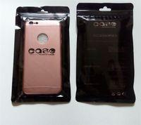 achat en gros de sac à s3 détail-Zipper 21 * 12 sac en plastique de détail de paquet Sac de matte de PVC pour l'universelle 5.5 caisse de téléphone portable de pouce Samsung Galaxy S2 S3 S4 S5 iphone