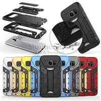 ba fit - Armor Hybrid card Slot case With Kickstand Back Cover For iphone S plus SE Samsung Galaxy S7 edge Note5 OPP BA