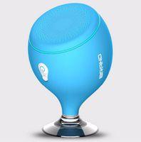 audio bracket - LED Tail Whale Floating S6 Sucker Waterproof Bluetooth MINI speaker Bathroom Outdoor Wireless Bluetooth Speaker with Mobile phone bracket