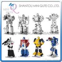 assembled model cars - DHL Piece Fun D movie colour cars change robot car super hero Metal Puzzle adult assemble DIY models educational toy