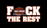 Wholesale Harley Davidson F CK Flag x5FT banner D X90CM Polyester brass grommets Harley Davidson f ck Flag
