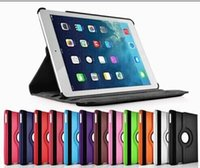 Wholesale Rotating Case For iPad Air Ultra thin Degree Rotary Stand Leather Case Cover For iPad pro air3 air Mini Rotary Stand