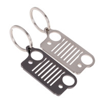 Wholesale Stainless Steel Car Keychain Keyrings Key Ring Promotional Key Gift