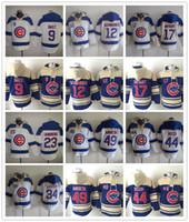Wholesale Chicago Cubs Hoodie Javier Baez Kyle Schwarber Starlin Castro Kris Bryant Ryne Sandberg Jon Lester Anthony Rizzo Jake Arrieta Hoodie