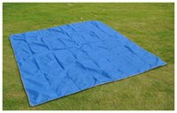 Oxford awning cloth - Outdoor Person cent Cloth Camping Cloth Awning Camping Mat NH15D005 X