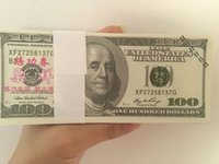 Wholesale USA Learning Dollars New Trainings Banknotes Bank Staff Training Banknotes Christmas Arts Gifts Collect Home Arts Crafts