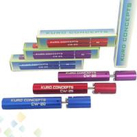 Kuro Koiler Blue, Red, Purple Electronic cigarette Atomizer Coil Jig Kuro Koiler Micro Coil Wick Jig E cigarette Micro Machine tool for RDA Ecig Coil Jig Winding Machine DHL Free