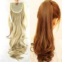 beauty ponytails - Ponytail Hairpieces Braid Synthetic Hair Ponytail Inch For Beauty Girl Ponytail Extensions g Heat Resistant Fibre Hair Pad