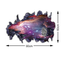 Wholesale Estrella Space Galaxy Wall Stickers Home Decor Wall Art Stickers for Living Room Sticker Fashion Decoration