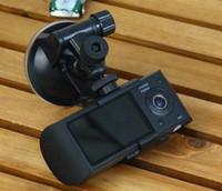 al por mayor expediente de la cámara gps-Cámara de doble cámara DVR R300 con GPS y 3D G-Sensor 2.7