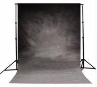 Wholesale 3 FT Vinyl Photography Background Retro Gray Wall Photographic Backdrop For Studio Photo Prop Cloth cm cm
