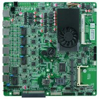 Wholesale Celeron U firewall motherboard GbE LAN supporting CF SSD G WiFi PCIe x