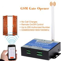 Wholesale 200 users GSM gate door opener for NICE FAAC MIGHTY MULE BFT CAME GSM Remote Switch Garage swing Gate Opener rolling shutter