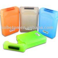 Wholesale 4pcs Colorful Portable quot IDE pin HDD Store Tank Protect Cover Box Enclosure inch SATA Hard Drive Disk Case