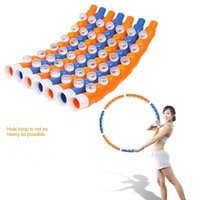 Wholesale Removable Magnetic Massage Hoop Hula Hoop Slimming Fitness Equipment For Home Weight Loss KG CM