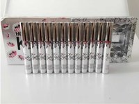 Wholesale In Stock Kylie Days of Christmas Lipstick Vault Holiday Lipstick set Matte Liquid Lipgloss Lips Makeup free dhl